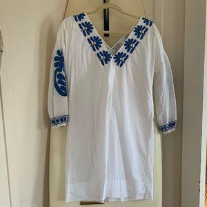Madewell - 3/4 length sleeve mini dress - Size XXS